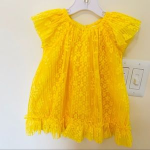 Gymboree cute baby dress!Yellow color